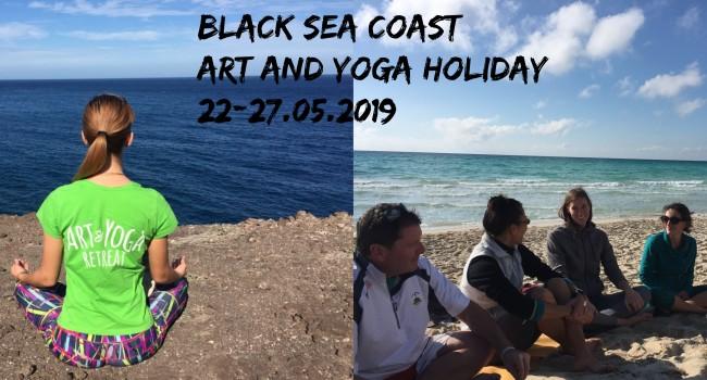 Black sea coast- vacation with yoga, mindfulness and art